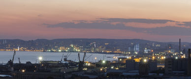 Panorama Baku Stockfotos