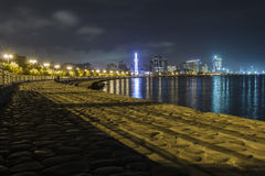 Panorama Baku obrazy royalty free