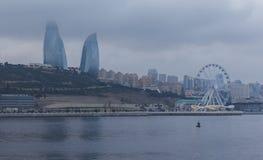 Panorama Baku Royalty Free Stock Photography