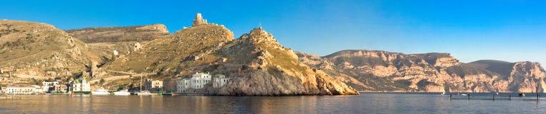 Panorama Balaklava bay Stock Photos