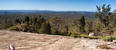 panorama bald rock landscape Stock Images