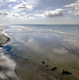 Panorama on a Baltic sea Royalty Free Stock Photography