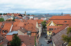 Panorama of Bamberg Stock Photos