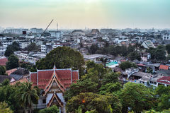 Panorama of Bangkok Royalty Free Stock Photo