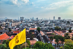 Panorama of Bangkok Royalty Free Stock Image