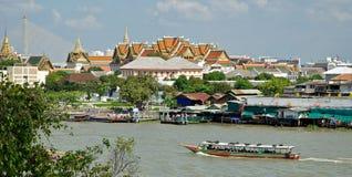 Panorama of Bangkok Royalty Free Stock Images