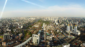 Panorama of Bangkok Stock Image