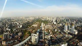 Panorama of Bangkok Stock Image