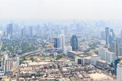 Panorama of Bangkok from Baiyoke Sky Hotel. Thailand Royalty Free Stock Images