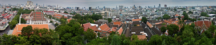 Panorama of Bangkok Stock Photography