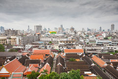 Panorama of Bangkok, Thailand Royalty Free Stock Images