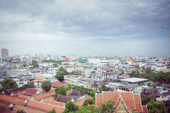 Panorama of Bangkok, Thailand Stock Photo