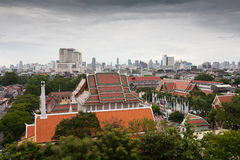 Panorama of Bangkok, Thailand Stock Photos