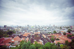 Panorama of Bangkok, Thailand Royalty Free Stock Photography