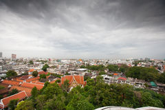 Panorama of Bangkok, Thailand Stock Photography