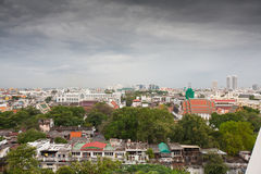 Panorama of Bangkok, Thailand Stock Images