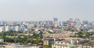 Panorama of Bangkok Stock Images