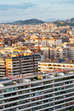 Panorama of Barcelona city Stock Photography