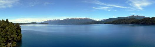 Panorama Bariloche Royalty Free Stock Photography