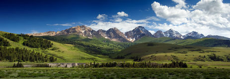 Panorama At-Bashi. Valley in Kirghistan Stock Photography
