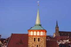 Panorama of Bautzen Royalty Free Stock Image
