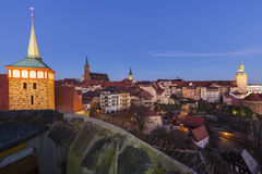 Panorama of Bautzen Stock Photos