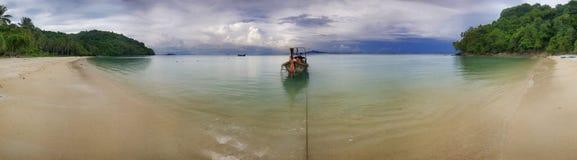 Panorama of the beach-2 stock photo
