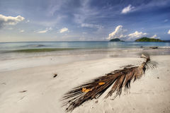 Panorama of beach of Koh Mak Royalty Free Stock Photos