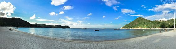 Panorama Beach in Koh Phangan, Thailand. Royalty Free Stock Photography