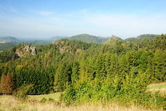 Panorama of beautiful landscape Royalty Free Stock Photos