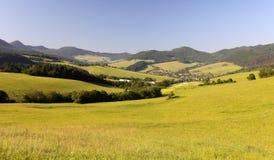 Panorama of beautiful mountain Royalty Free Stock Photo