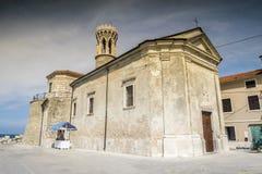 Panorama of beautiful Piran, Slovenia Royalty Free Stock Photos