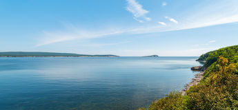 Panorama of beautiful scenic view Royalty Free Stock Photography