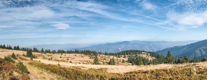 Panorama of beautiful Slovakia mountain landscape Stock Photography