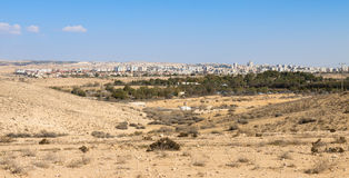 Panorama of Beer-Sheva Royalty Free Stock Images