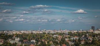 Panorama Belgrad Serbien Lizenzfreies Stockfoto