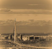 Panorama Belgrad Serbien Lizenzfreie Stockfotografie