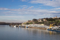 Panorama of Belgrade,capitol of Serbia Royalty Free Stock Images
