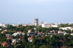 Panorama of Belgrade Stock Photo