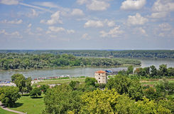 Panorama of Belgrade Stock Photo