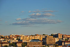 Panorama of Belgrade Stock Photography