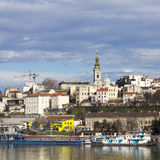 Panorama of Belgrade,Serbia Stock Image