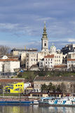 Panorama of Belgrade,Serbia Royalty Free Stock Images