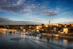 Panorama of Belgrade Royalty Free Stock Photos