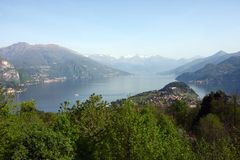 Panorama of Bellagio, lake Como, Italy Stock Photos