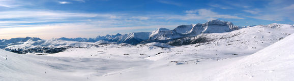 panorama- berg Arkivfoto