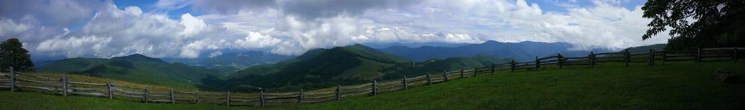 panorama- berg Royaltyfria Foton