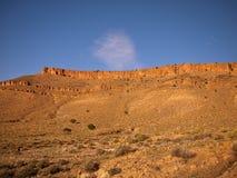 Panorama-Berg flach Stockfoto