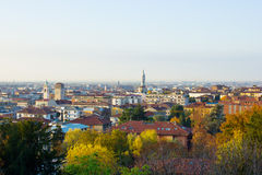 Panorama of Bergamo, Italy Royalty Free Stock Image