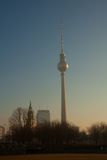 Panorama of Berlin Royalty Free Stock Image